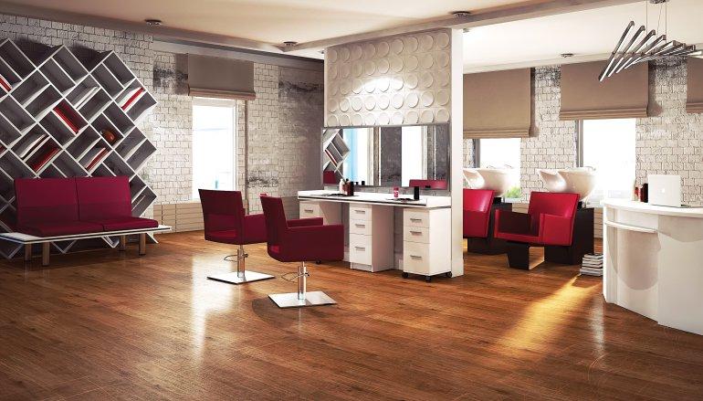 Jak zaprojektowa odpowiednio salon fryzjerski for Kappersinterieur